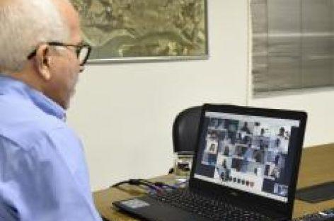 Edvaldo reúne secretários para discutir proibições do período eleitoral