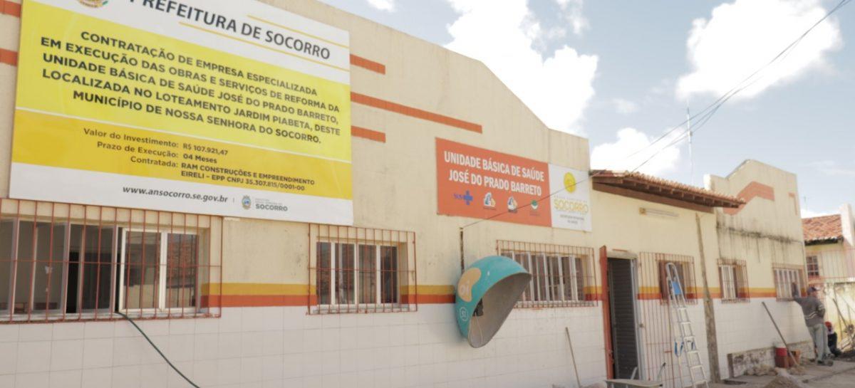 Prefeitura de Socorro dá início à reforma de três Unidades Básicas de Saúde