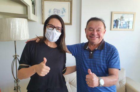 Gilmar Carvalho anuncia apoio a Danielle Garcia na eleição municipal