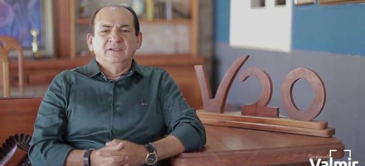 Ex-prefeito Valmir Monteiro garante que atuará para eleger seus candidatos em 2020