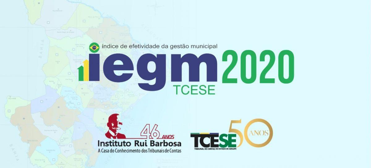 IEGM: Tribunal de Contas obtém respostas dos 75 municípios sergipanos