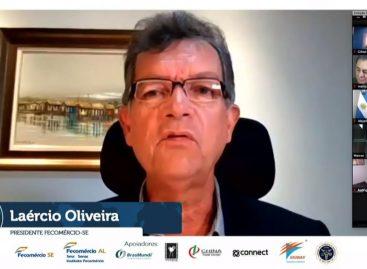 Laércio apresenta potencialidades de Sergipe para mercado internacional