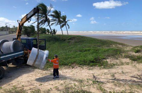 Prefeitura retoma bloqueio dos acessos às faixas de areia da capital