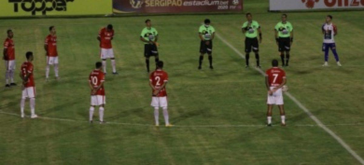 Sergipe vence Itabaiana na abertura da 3ª rodada do Quadrangular