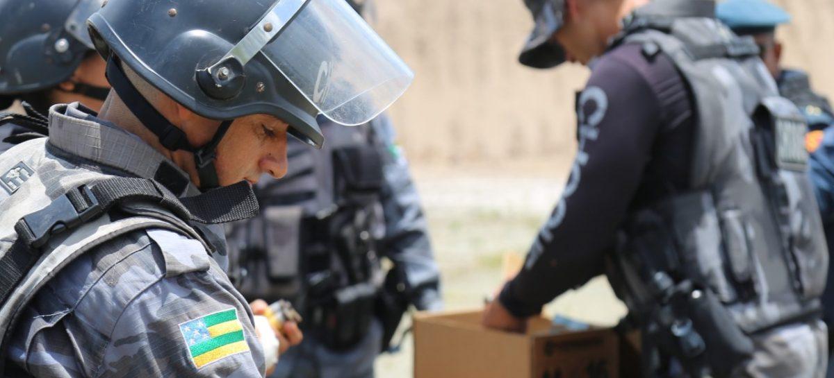 Secretaria de Segurança recebe armas não letais e novos computadores