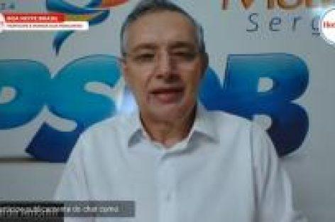 """""""Estamos conversando com diversos candidatos que entendem a importância do PSDB"""", afirma Eduardo Amorim"""
