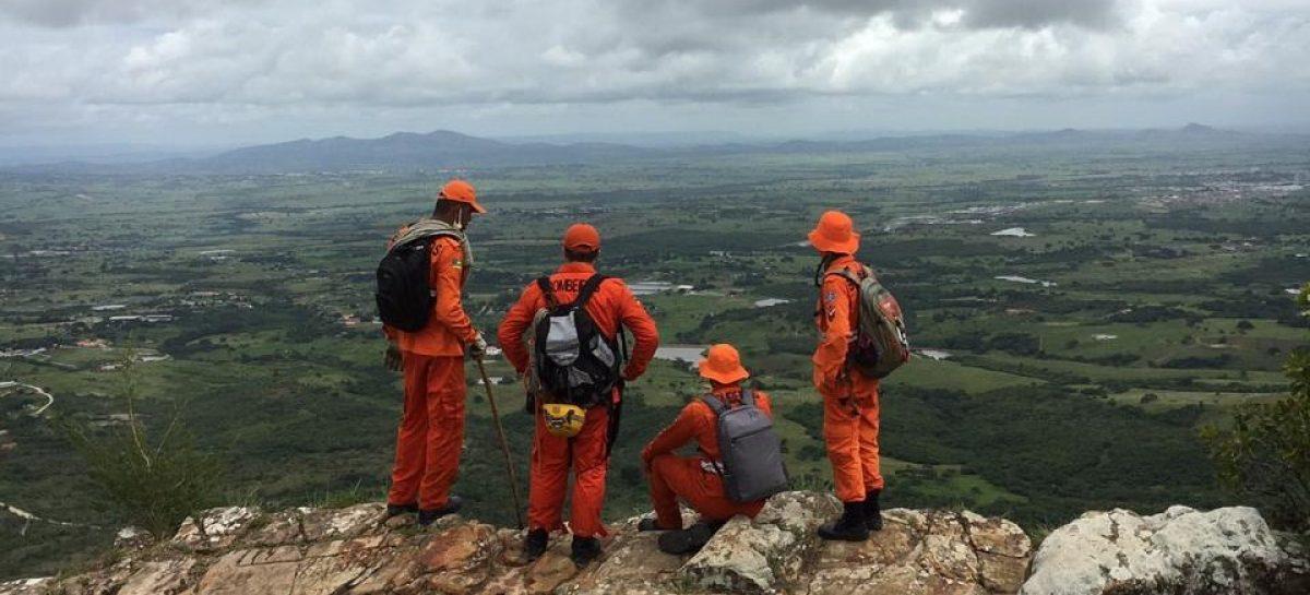 CBMSE mapeia áreas de acesso e riscos na Serra de Itabaiana