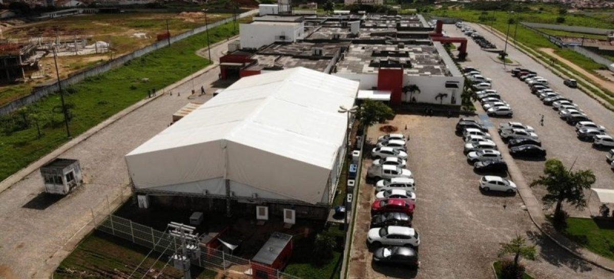 Hospital de campanha do município de Lagarto, foi alvo de operação da Polícia Federal