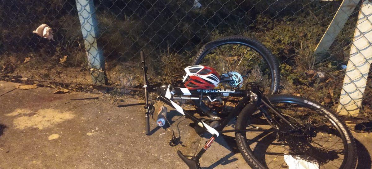 Ciclista morre após ser atingido por carro na av. Inácio Barbosa