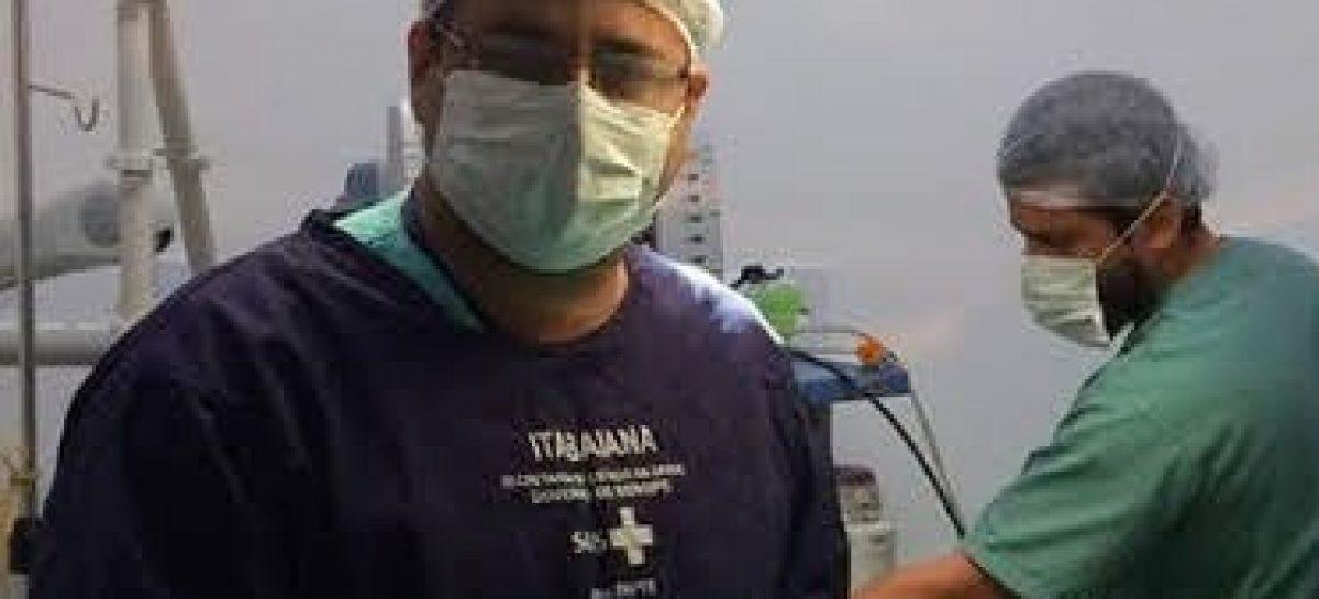 Cirurgião desenvolve pesquisa sobre a relação da higiene bucal com agravamento da Covid-19