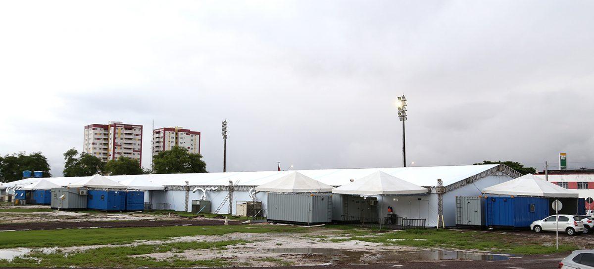Hospital de Campanha tem 179 recuperados e 43 internados