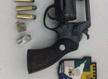 Ações do 3° BPM resultam em prisão por violência doméstica e apreensão de arma