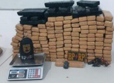 BPRp apreende 160 kg de maconha, suspeito é morto e PM atingido