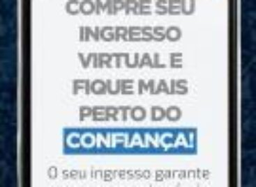 Confiança lança ingresso virtual colecionável para o jogo de sexta