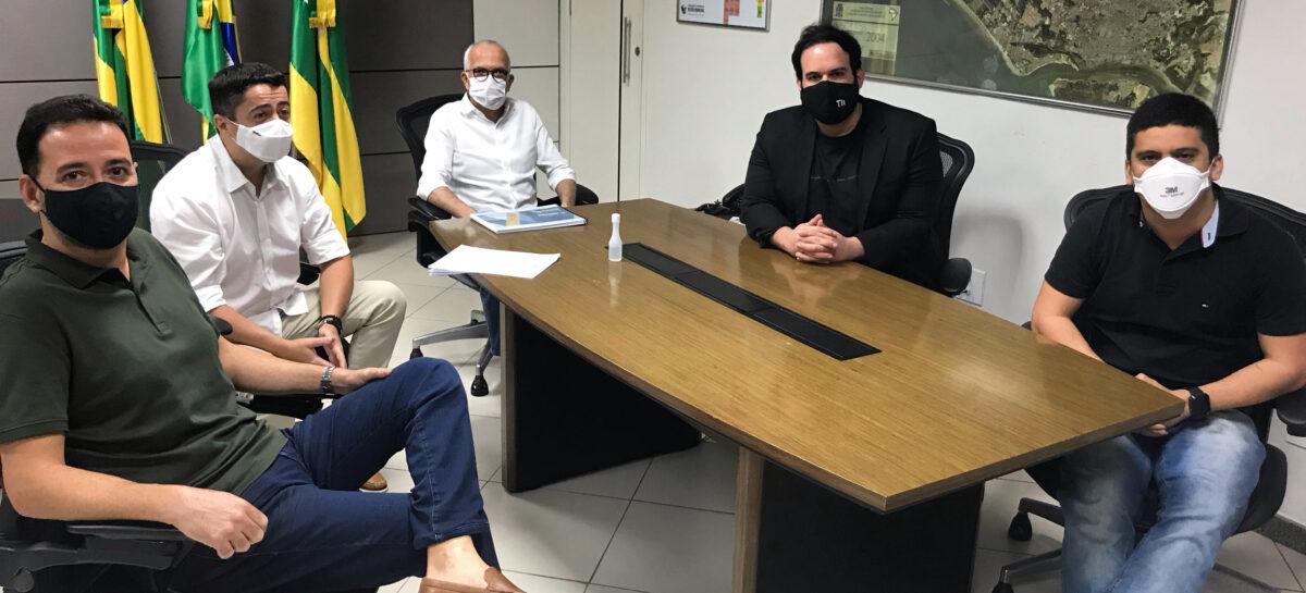 Representantes do setor de eventos se reúnem com prefeito de Aracaju