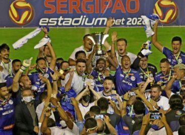Confiança empata com Itabaiana e conquista Campeonato Sergipano de 2020