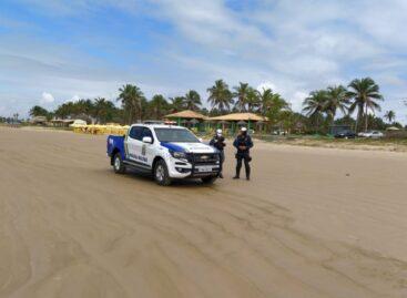 CPTran atua no policiamento de trânsito nas praias de Aracaju