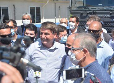 """Presidente Bolsonaro: """"Belivaldo quer me sequestrar, sequestrou meu coração"""""""
