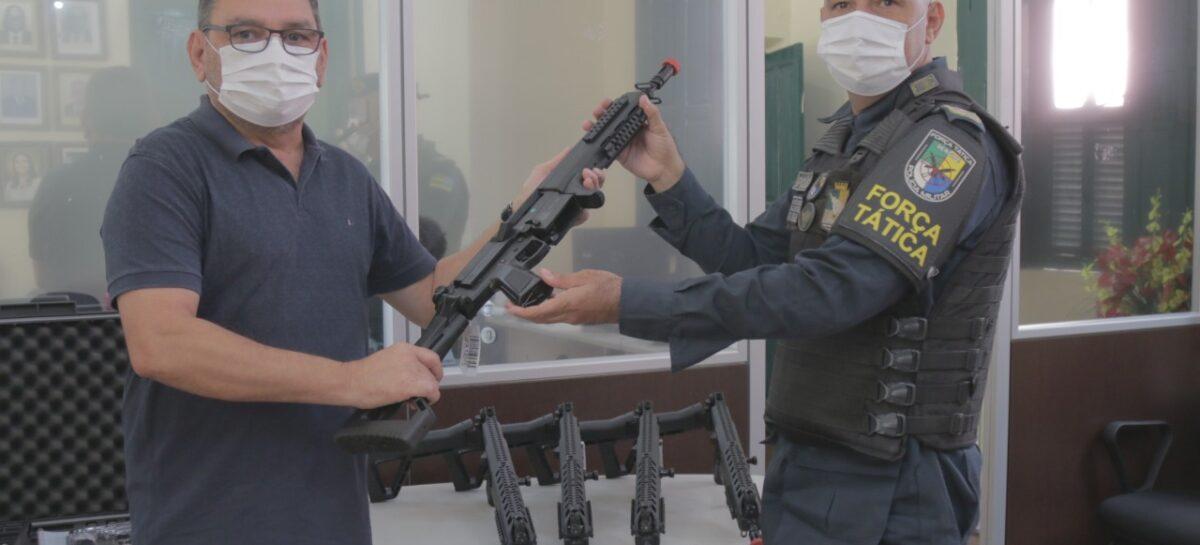 SSP recebe 150 carabinas para reforçar segurança pública
