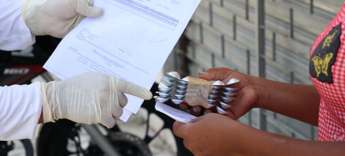 Case divulga calendário de entrega domiciliar de medicamentos em setembro