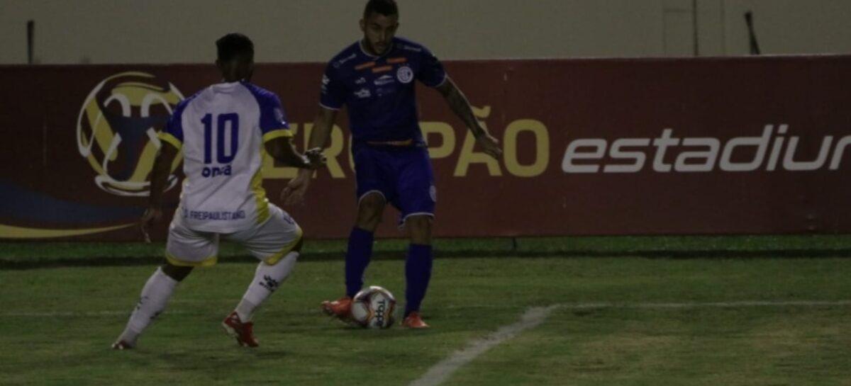 FreiPaulistano é goleado pelo Confiança na 3ª rodada do Sergipão