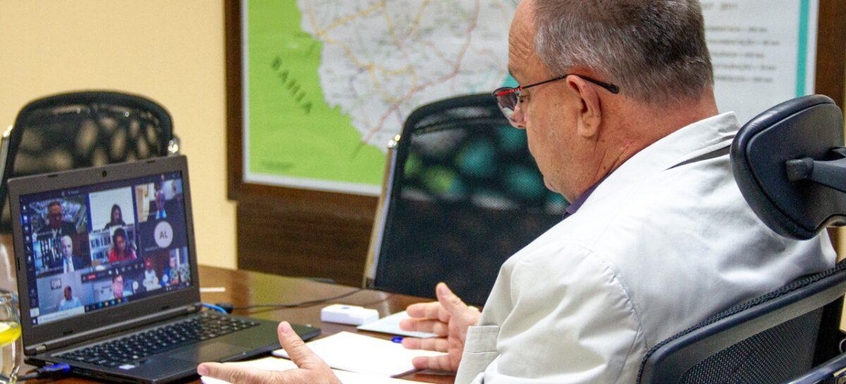 Belivaldo Chagas  celebra transmissão de posse da Fafen ao Grupo Unigel