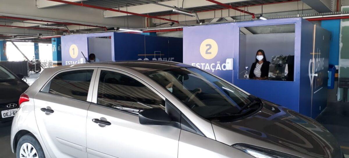 Lojas dos shoppings Jardins e RioMar Aracaju começam a funcionar em sistema drive-thru