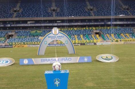 Cuiabá vence Confiança na 4 ª rodada do Campeonato Brasileiro da Série B