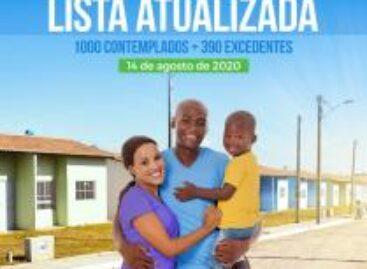 Veja lista atualizada dos sorteados das mil casas populares em Socorro