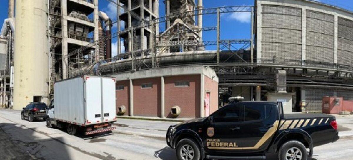 Polícia Federal incinera quase três toneladas de drogas apreendidas