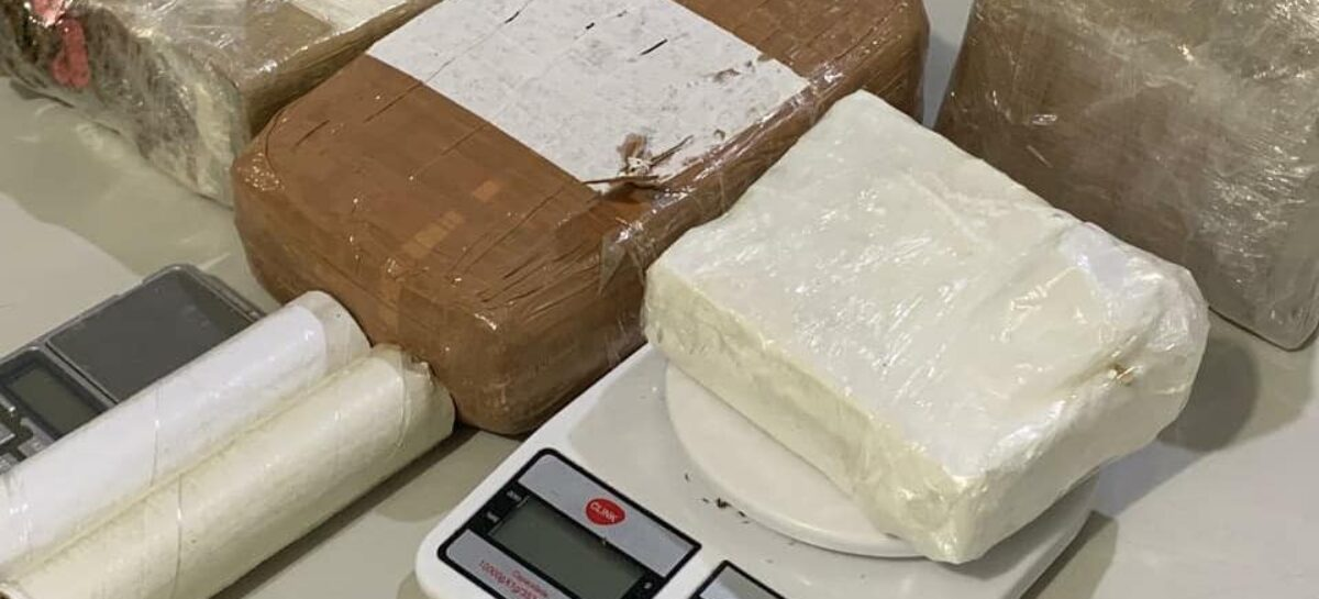Jovem é preso na zona sul de Aracaju com 3,5 quilos de droga