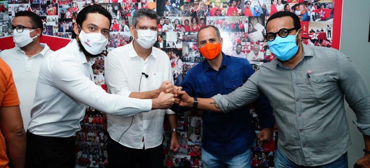 PT e PROS constituem a nova frente de esquerda da capital