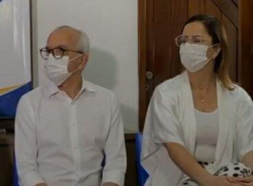 Edvaldo  anuncia chapa com a delegada Katarina Feitoza para disputar a reeleição