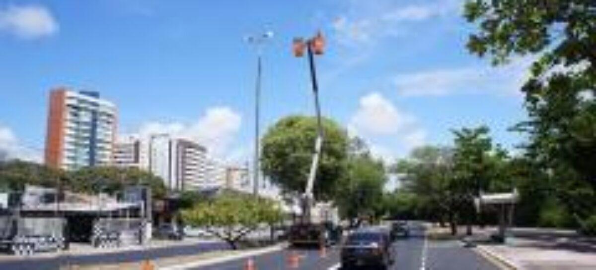 Emurb disponibiliza canais para solicitação de manutenção na iluminação pública