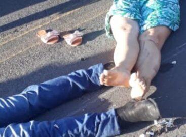 Acidente fatal é registrado em Carira e deixa um casal morto