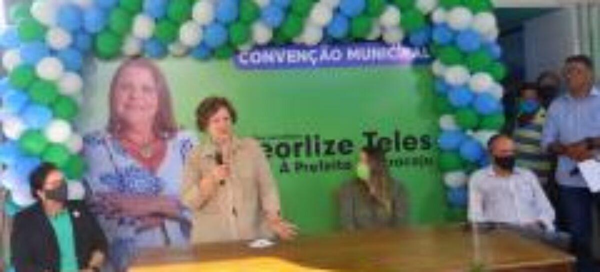 DEM oficializa Georlize Teles para disputar a Prefeitura de Aracaju