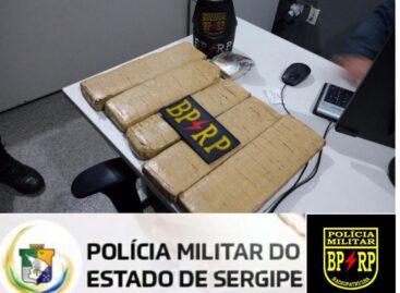 Polícia Militar apreende aproximadamente 5 quilos de maconha no Bairro Cidade Nova