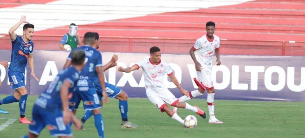 Confiança vence o Náutico por 1 a 0 no estádio dos Aflitos
