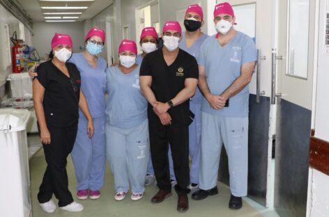 4 mulheres são beneficiadas para reconstrução mamária no Huse