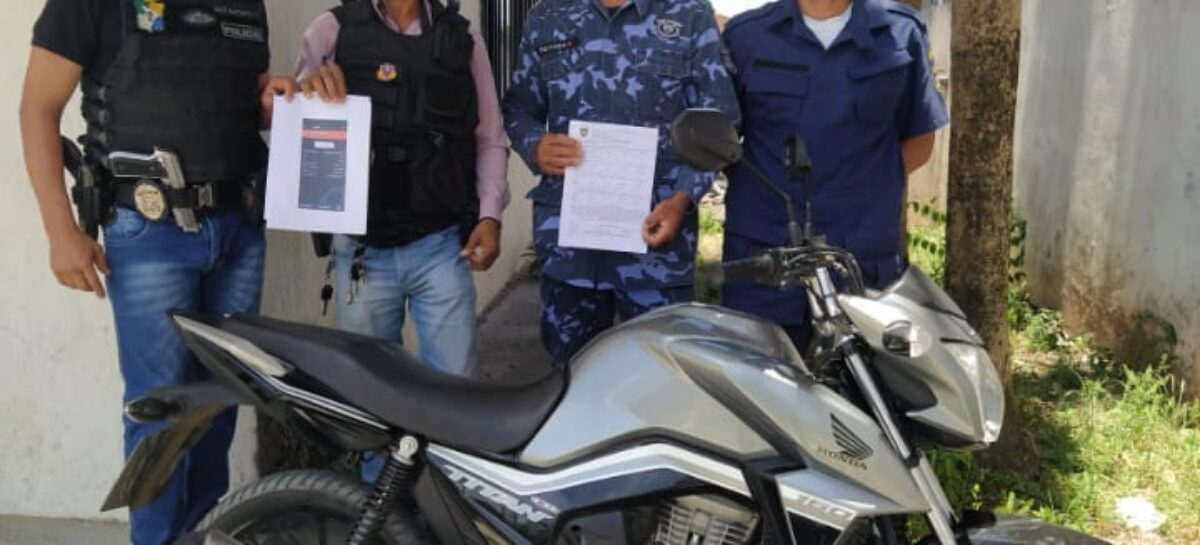 Guarda Municipal de Rosário recupera a 51ª motocicleta roubada