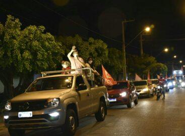 """""""Nossa gente está com saudades do PT"""", declarou Márcio Macêdo em mais uma Carreata"""