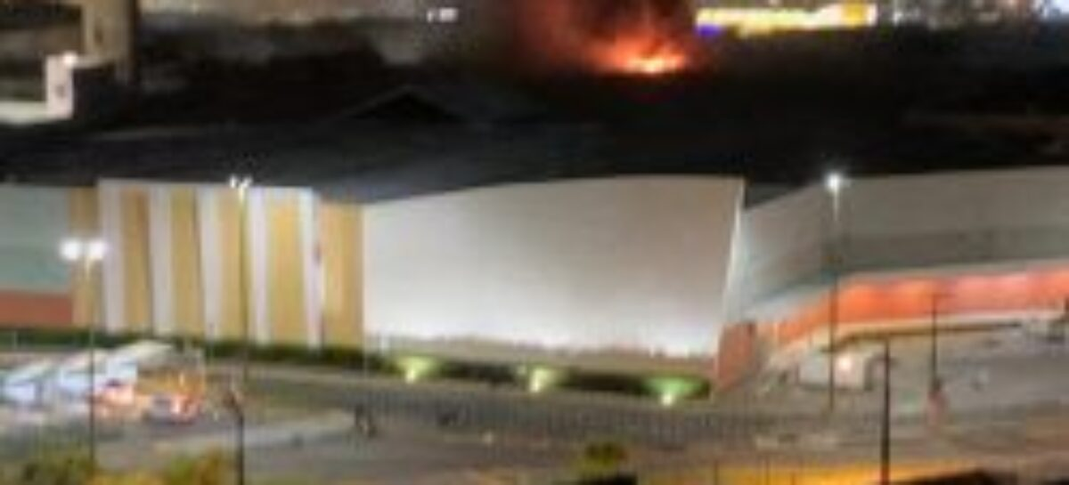 Lâmpada no depósito da Eggo Shoes provoca incêndio no shopping, que reabre nesta quinta