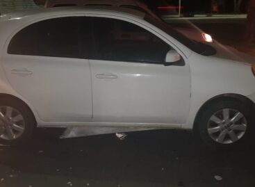 CPTRAN conduz condutora a delegacia após se envolver em acidente em Aracaju