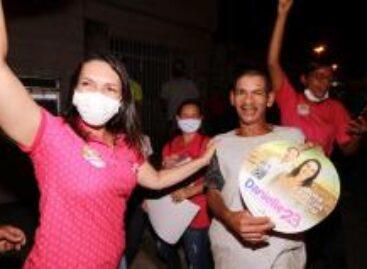 Danielle Garcia segue levando mensagem da esperança aos aracajuanos
