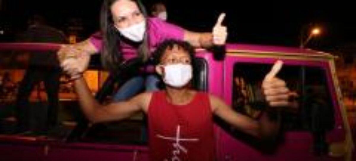 """""""Nossa vitória, acima de tudo, será dos aracajuanos"""", afirma Danielle Garcia"""