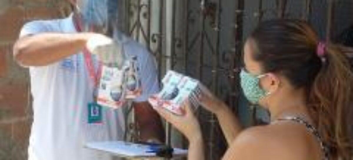 11 mil famílias baixa renda são beneficiadas com troca de lâmpadas em Aracaju