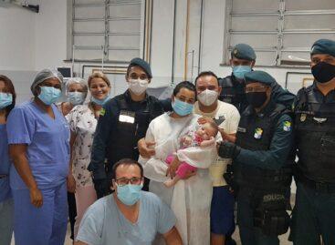 PMs ajudam a salvar vida de recém-nascida em Nossa Senhora do Socorro
