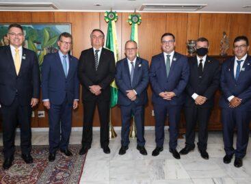 Presidente do Sindesp se reúne com Jair Bolsonaro em Brasília
