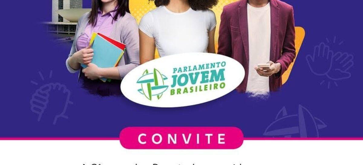 Câmara dos Deputados diploma estudantes para o Parlamento Jovem Brasileiro 2020