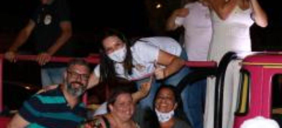 Bairro Cirurgia recepciona carreata da esperança de Danielle prefeita